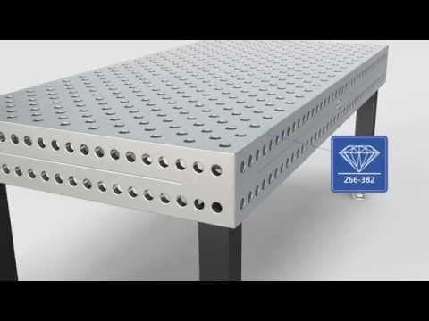 Презентация сварочно-сборочного стола из нержавеющей стали