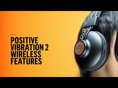 Positive Vibration 2 Wireless | Bluetooth Headphones | House of Marley
