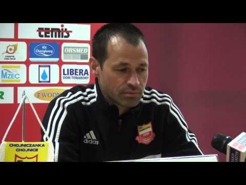 Konferencja prasowa po meczu Chojniczanka - Stomil