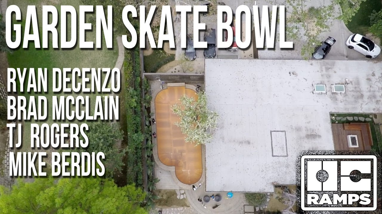 Skating the Garden Bowl - OC Ramps