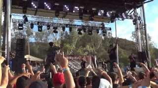 "Joey Bada$$ ""Like Water"" - Rock The Bells 2013"
