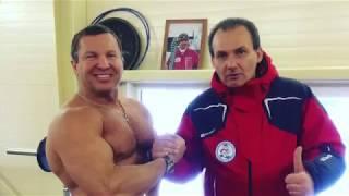 Леван Ткебучава-Путин: ММА Юрий Голубев награждает победителя!