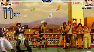 los 15 mejores combos - the king of figthers 2002 LOQUENDO