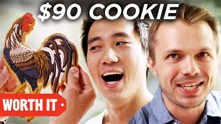 $1 Cookie Vs. $90 Cookie - Video Youtube