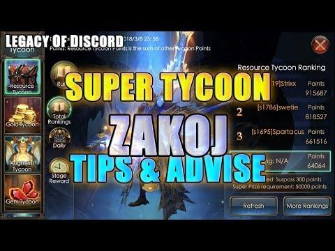 Legacy of Discord - Super Tycoon TIPS! By ZakoJ - смотреть