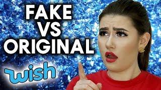 FAKE vs ORIGINAL | Beauty Produkte Wish Haul deutsch