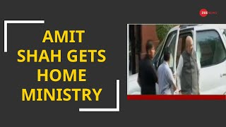 Amit Shah gets Home Ministry, Rajnath Singh Defence