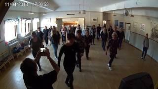 Kursavslutning VT -18 / Söderhamns linedancers / Go Johnny