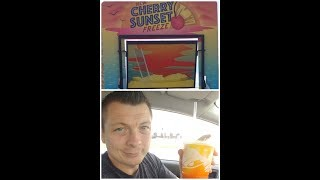 Taco Bell Cherry Sunset Freeze review