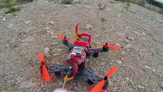 HobbyKing smack fpv quadcopter maiden flight