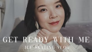 Get Ready With Me | 和我一起化妆 | 去尝试滑冰 | Meng Mao