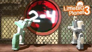 LittleBIGPlanet 3 - Iron Sumo Wrestling & Mortal Combat Robot [Playstation 4]