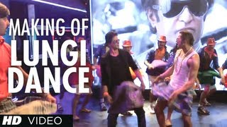 Lungi Dance Song Making (The Thalaiva Tribute) - Chennai Express