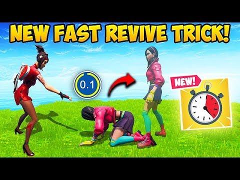 *NEW* SUPER OP REVIVE TRICK!! - Fortnite Funny Fails and WTF Moments! #581