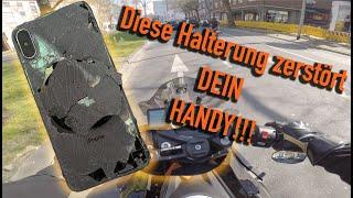 DIESE Halterung fürs Motorrad zerstört DEIN Smartphone!! Motovlog #02 #Harztour #SPConnect