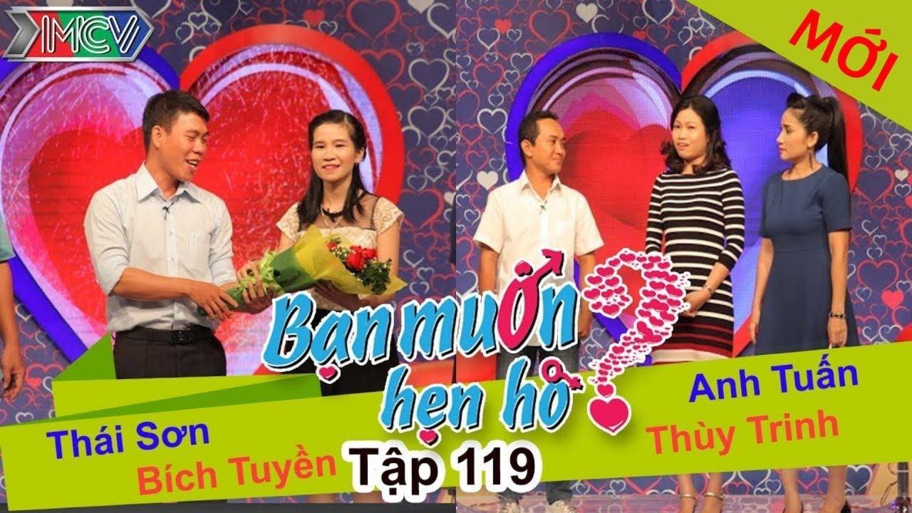 BẠN MUỐN HẸN HÒ #119 UNCUT | Thái Sơn - Bích Truyền | Anh Tuấn - Thùy Trinh | 291115 💖