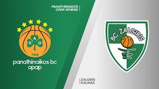Panathinaikos Athens - Zalgiris Kaunas Highlights | Turkish Airlines EuroLeague, RS Round 20