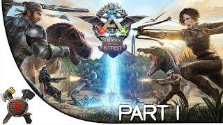 "Ark: Survival of the Fittest - Part 1: ""Let the Games Begin!"" (New Gametype)"
