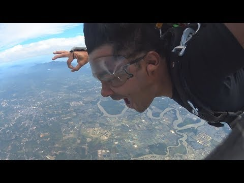 Sky Diving With Freefall Thailand - Eshan