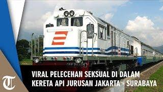 Pelecehan di Kereta Jurusan Jakarta - Surabaya Dialami Penumpang Wanita yang Viral di Twitter