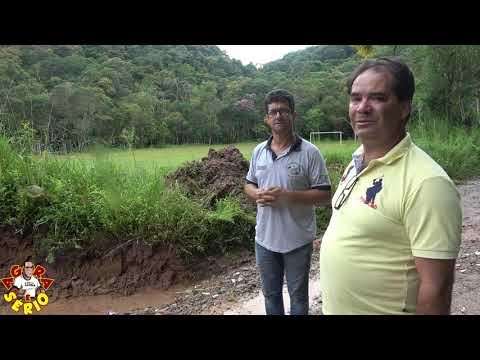 Secretária de Obras pode acabar com o Campo do Monjolo desviando a água da enxurrada para dentro do Campo .