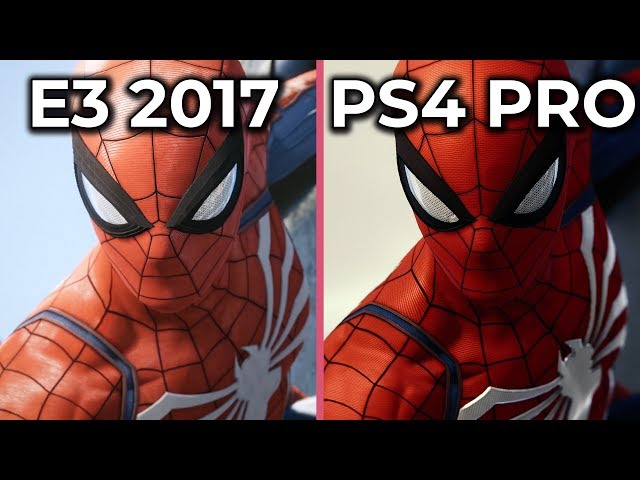 Spiderman PS4 Downgrade Jossed In New Video Detailing E3 vs Release