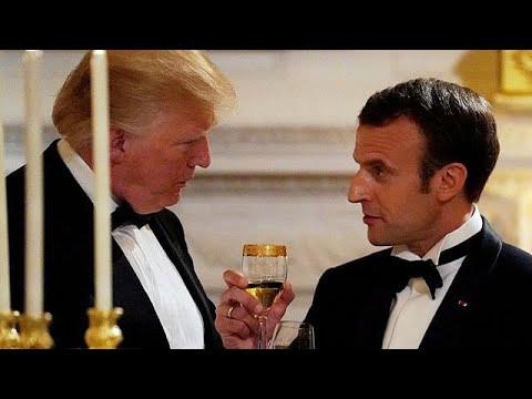 ΗΠΑ: Δείπνο Τραμπ – Μακρόν στο Λευκό Οίκο