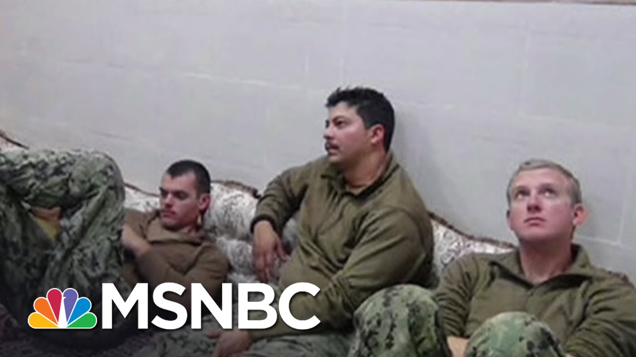 10 US Sailors Released From Iranian Custody | MSNBC thumbnail