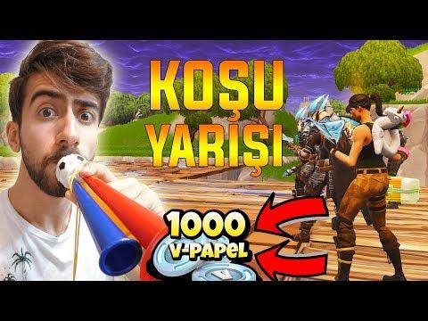 DURURSAN ÖLÜRSÜN YARIŞI - Fortnite Battle Royale Türkçe