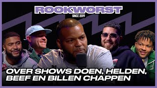 Hef, Murda, Sticks, Idaly & Bokke8 in Rookworst de Podcast