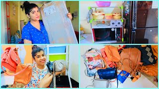 Vlog 68 :- Monday Vlog   My Bags Collection   Best Utility Product for Kitchen   #DailyVlogSeries