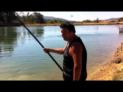 Lascensore per pescare di video