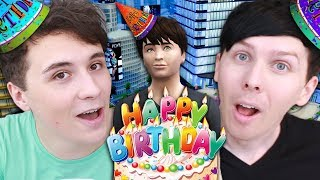 DIL'S BIRTHDAY IN THE BIG CITY! - Dan And Phil Play: Sims 4 #45