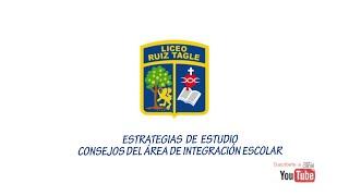 ESTRATEGIAS DE ESTUDIO