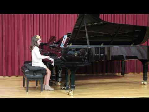 Jackie plays Bagatelle Op. 125, No. 4 by Anton Diabelli