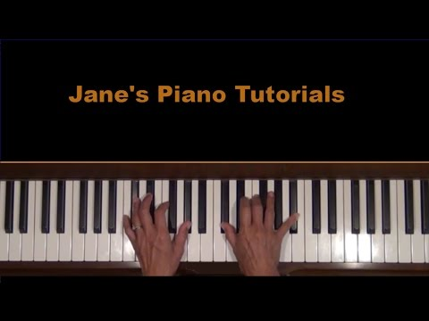 Chopin Waltz Op. 69, No. 1 Piano Tutorial