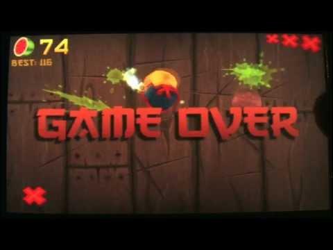 Classic Game Room - FRUIT NINJA mobile review