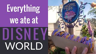 Everything We Ate At Disney World / Quick Service Disney Dining Plan