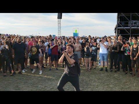 You Me At Six Bite My Tongue Live In Moshpit With Josh Franceschi Aerodrome Festival 2018