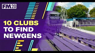 10 clubs to find the best Newgens FM20