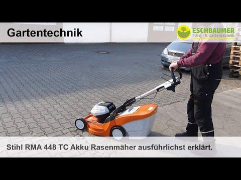 Stihl RMA 448 TC Akku Rasenmäher ausführlichst erklärt