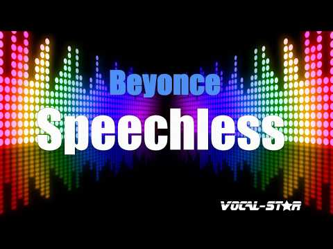 Beyonce - Speechless (Karaoke Version) with Lyrics HD Vocal-Star Karaoke