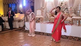 Mummy and Mausi Engagement Dance - YouTube