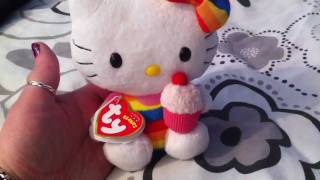 HelloKittyGoodies - Hello Kitty Rainbow Cupcake TK Beanie