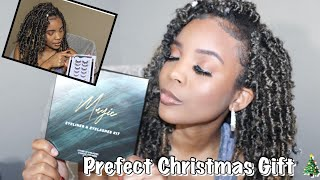 Lanciley Magnetic lashes review!! Prefect Christmas gift for women | #Vlogmasday3