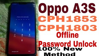 Oppo A3s Wipe Data Password