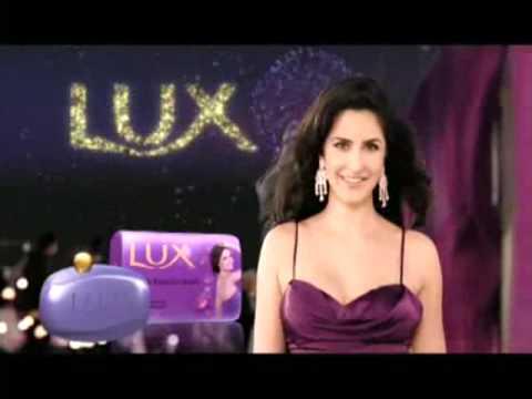 Lux Purple Lotus & Cream Ad