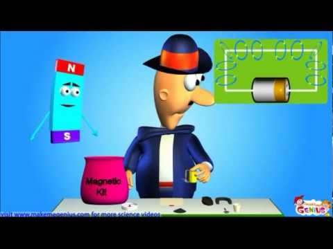 Electromagnet -What is it ? For Kids