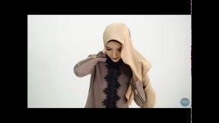 Tutorial Shawl Pudore #4 - Naila Shawl