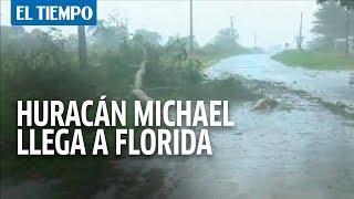 Así llegó el huracán Michael a Estados Unidos   EL TIEMPO